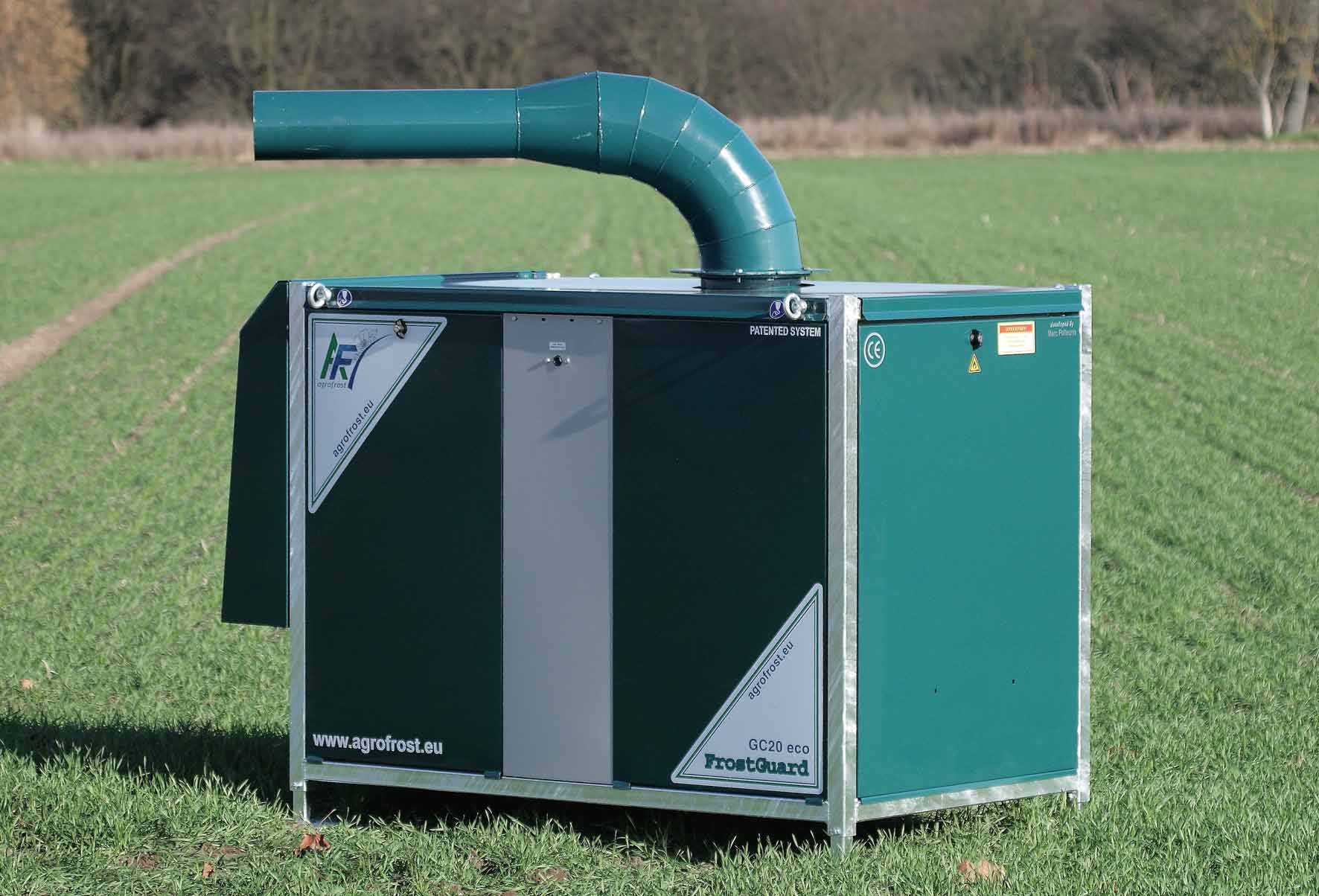 Agrofrost FrostGuard Frost Protection Machine, USA, Texas, New Mexico, Arizona, Mexico, Oklahoma